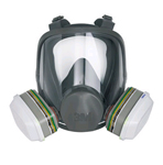 3M 6800S MEDIUM LOW MAINTENACE FULL FACE MASK